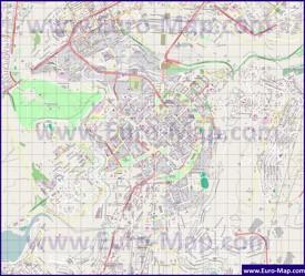 Подробная карта города Ереван