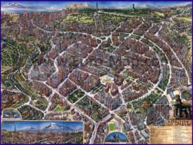 Туристическая карта Еревана