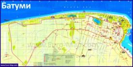 Карта отелей Батуми