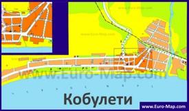 Туристическая карта Кобулети