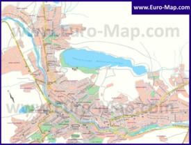 Карта Тбилиси на русском языке
