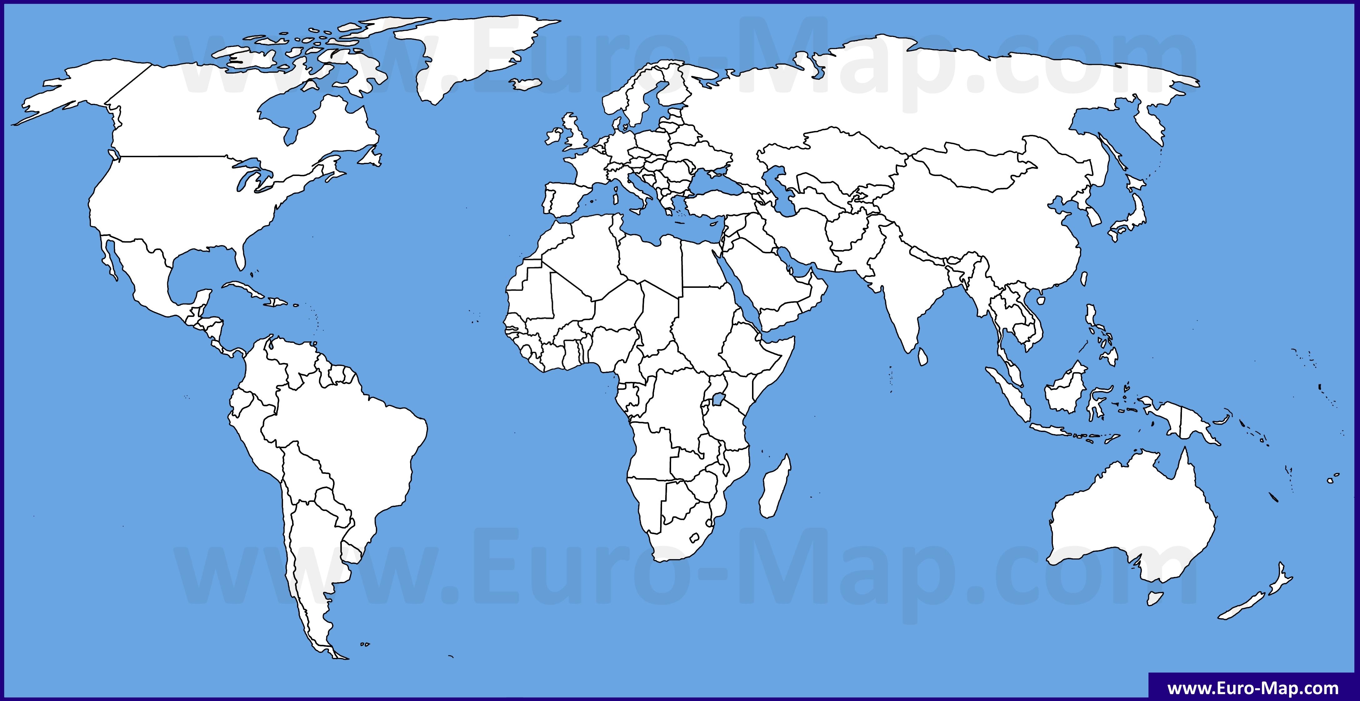 карта евразии рисунок