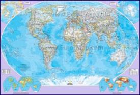 Подробная карта мира с городами на русском языке