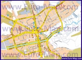 Карта годода Тирана