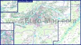 Подробная карта города Инсбрук