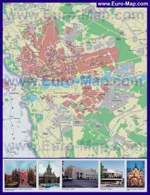 Карта города Брест