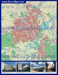Карта улиц Гомеля