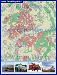 Подробная карта города Могилев