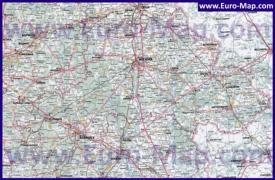 Автомобильная карта дорог Могилёвской области
