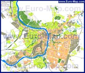 Подробная карта города Витебск