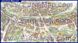 Туристическая карта Витебска