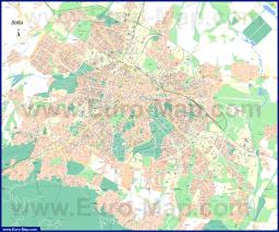 Подробная карта города София
