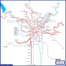 Карта транспорта Брно