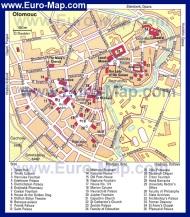 Подробная карта Марианских Лазней