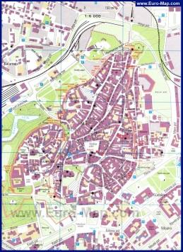 Туристическая карта Таллина