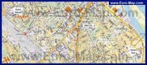 Подробная карта Тарту