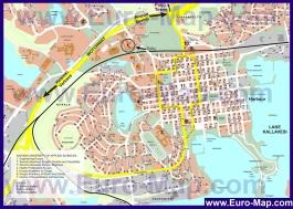Карта Куопио с магазинами