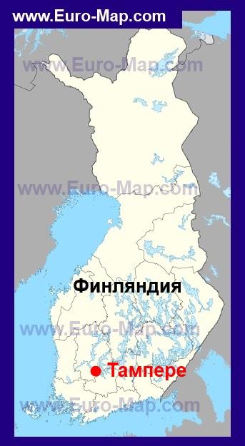 Карта миккели
