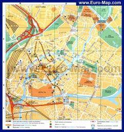 Туристическая карта Страсбурга