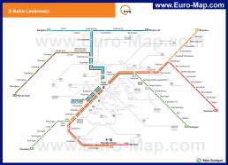 Карта метро Штутгарта