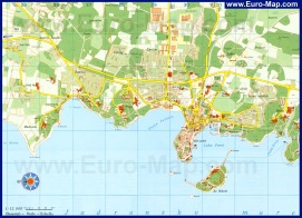 Карта города пореч (Хорватия)