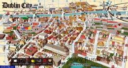 Туристическая карта Дублина