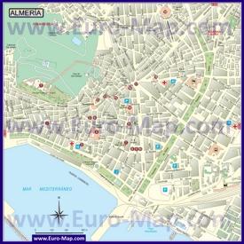 Карта города Альмерия
