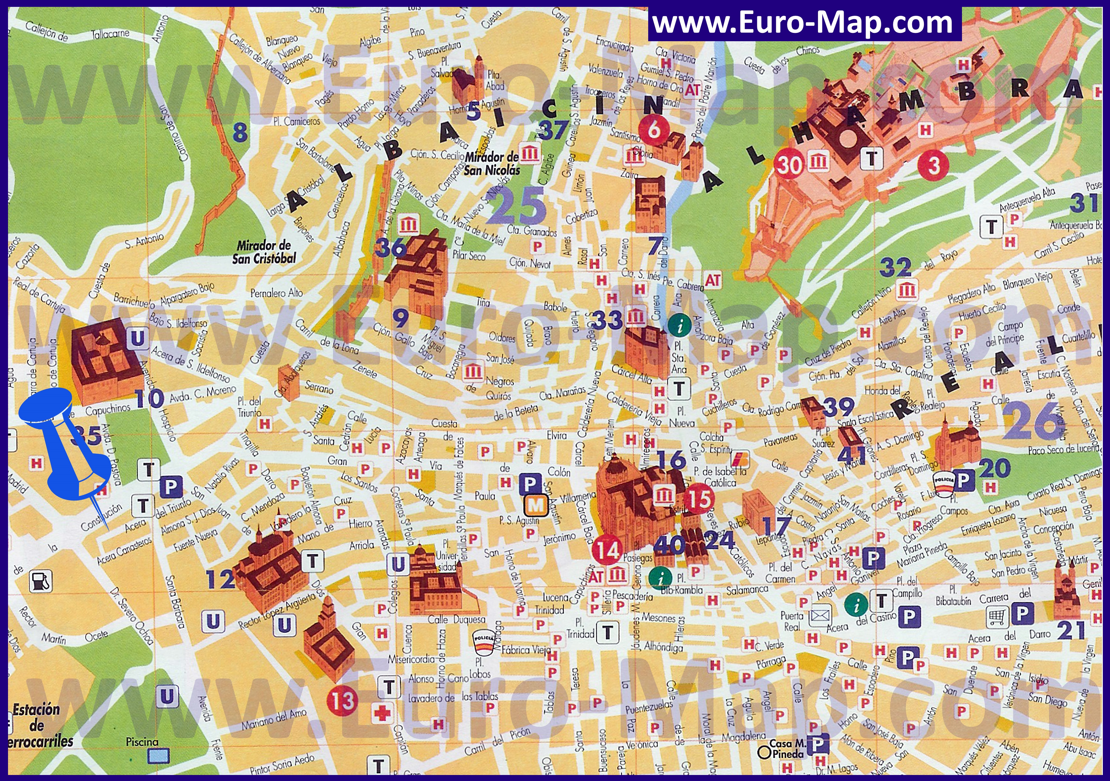 Tourist Map Ronda Spain – Tourist Map Of Ronda Spain