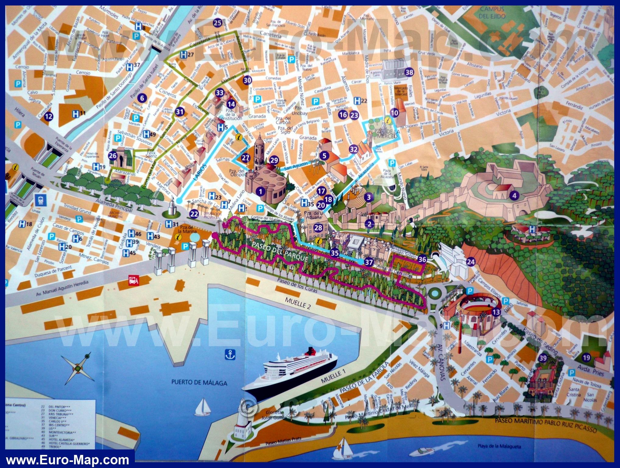 Карты городов России и мира на KartaMi.Ru