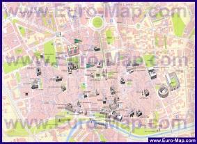 Подробная карта города Мурсия