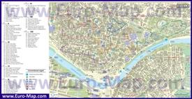 Достопримечательности Севильи на карте