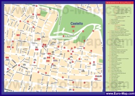 Подробная карта города Брешия