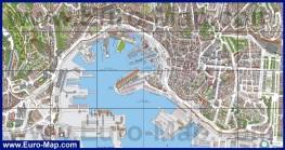 Карта города Генуя