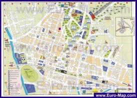 Подробная карта города Монтекатини