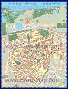 Карта города Равенна