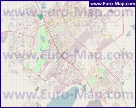 Подробная карта города Караганда