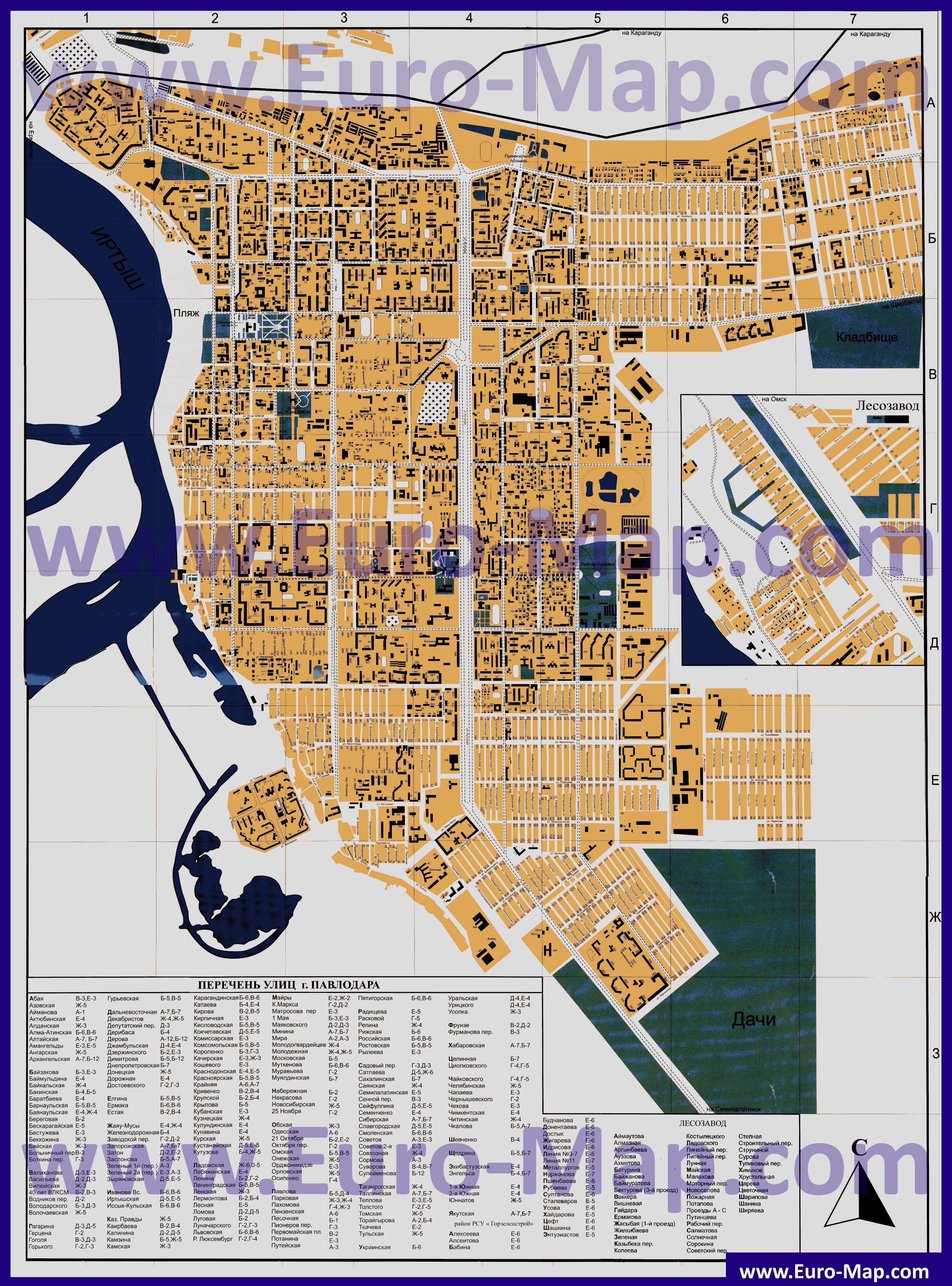 Карта Города Белорецка С Улицами И Номерами Домов