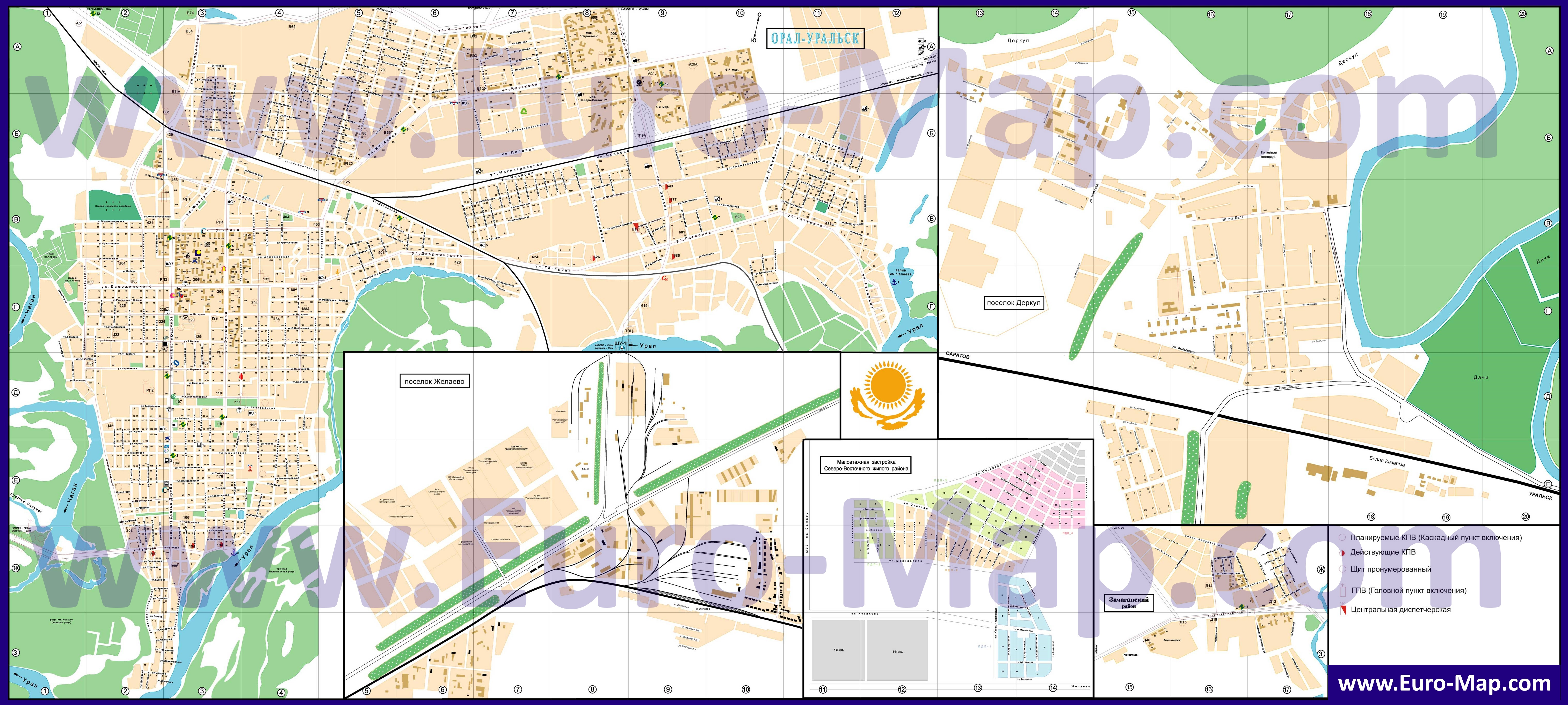 Карта с  домов