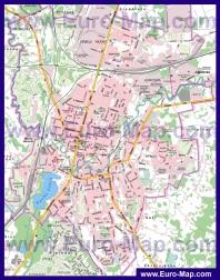 Подробная карта города Резекне