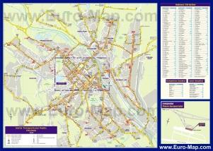 Подробная карта города Кишинёв