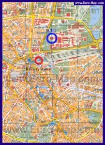 Подробная карта города Эйндховен