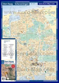 Карта города Гаага