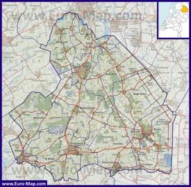 Карта дорог Дренте