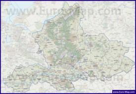 Карта дорог Гелдерланда