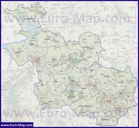 Карта дорог Оверэйссела