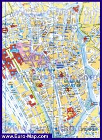 Подробная карта города Утрехт