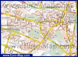 Туристическая карта Люблина с достопримечательностями