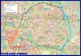 Карта города Познань