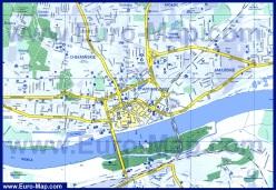 Подробная карта города Торунь