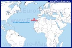Остров Мадейра на карте мира